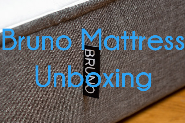 Bruno Mattress Unboxing