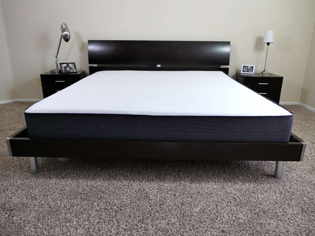 Bruno mattress, UK Super King on platform bed