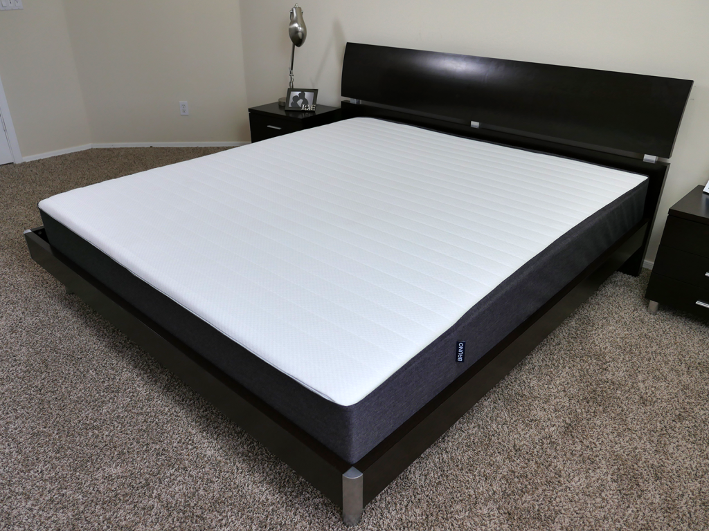 Angle view of the Bruno mattress