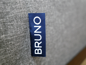 Bruno mattress logo label