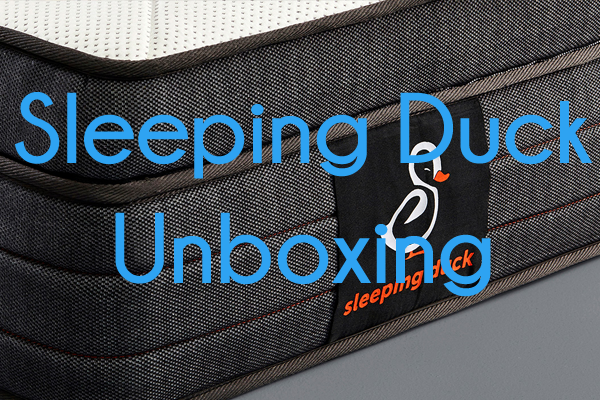 Sleeping Duck Mattress Unboxing