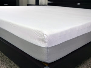 Close up shot of the Brighter mattress cover