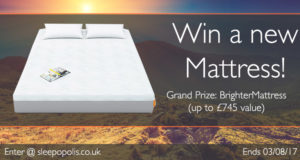 Enter to win a new Brighter mattress