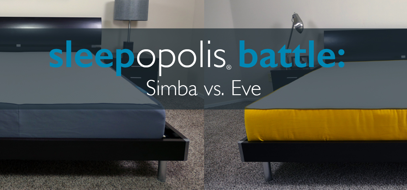 simba vs eve mattress review sleepopolis uk
